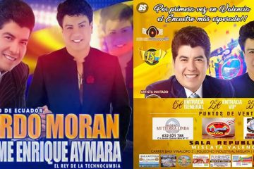 Gerardo Moran y Jaime Enrique Aymara